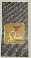 Vintage Jack Bowmans Suburban Steak Houses Menu