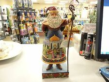 Jim Shore Santa Claus /Carolers - Here We Come A Caroling - 4007924 W/Tag