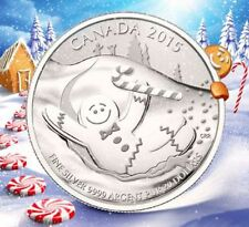 2015 Canada GINERBREAD MAN $20 for $20 Fine Silver Coin #18 in series TAX Exempt