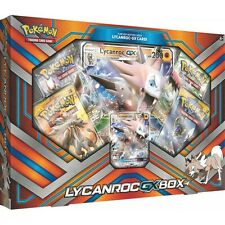 Pokemon TCG Pok80281 Lycanroc-gx Box Card Game