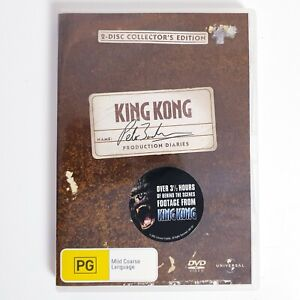 King Kong Collectors Edition Movie DVD Region 4 AUS Free Postage - Action