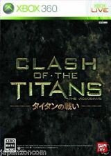 Used Xbox 360 Clash of the Titans MICROSOFT JAPAN JP JAPANESE JAPONAIS IMPORT