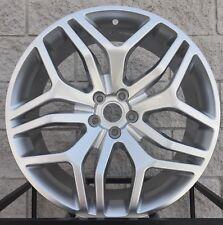 "20"" Land Rover Discovery Sport 5 Split Spoke Style Wheels Rims Hyper Silver New"