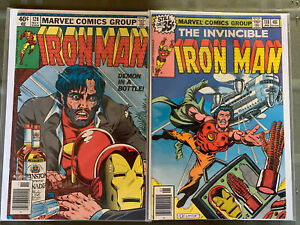 Iron Man Lot. Issues between 118-228 (FN/VF) + Annuals. 118 (VF), 128 (FN)