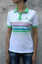 Lacoste Cotton Polo Neck Tops & Shirts for Women