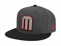 New Era 59Fifty Cap Mexico World Baseball Classic Fitted Hat - Gray/Black
