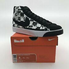Nike Blazer High Premium TZ Stussy x Neighborhood Black White 332286-101 sb US 9