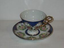 Vintage Shafford Cup & Saucer With Flowers  FREE SHIPPING