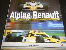 ALPINE RENAULT F1 1968 1979 A500 A350 RS11 RS01 JEAN REDELE RS10 RE60 DUDOT BOOK