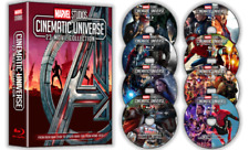 All 23 Marvel Cinematic Universe Movie Collection 8 Blu-Ray Free Usps Ship