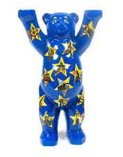 Buddy Bear Stars on Blue nuevo/en el embalaje original pequeño 6cm oso + caja de regalo Berliner souvenirs