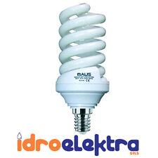 LAMPADE COMPATTE FLUORESCENTI MOD. MICROSPIRALE 25W 2700K E14