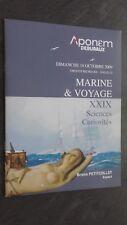 Katalog Autoverkauf Aponem Deburaux Dimanche 18 Okt 2009 Marine & Reisen Drouot