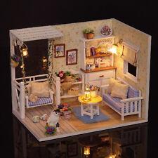 DIY Handcraft Miniature Dolls House - Light&Cover Dollhouse - UK Stock Fast Post