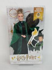 Minerva McGonagall Professor Doll Harry Potter Mattel Wizarding World New Sealed