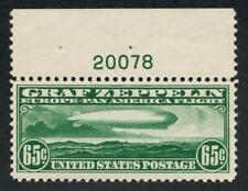 UNITED STATES (US) C13 MINT NH VF 65c ZEPPELIN PL#