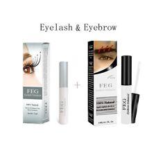 Eyelash Growth Serum Eyebrow Boost Enhancer 100% Natural Rapid Serum Liquid 3ml
