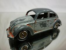 DINKY TOYS 181 VOLKSWAGEN VW BEETLE OVAL WINDOW - GREY 1:43 - NICE CONDITION