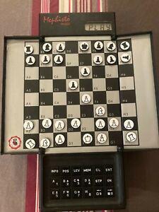 Mephisto Mobil MM1 Chess by Nitsche, Thomas & Henné, Elmar
