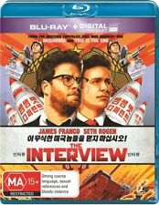 *Brand new & sealed* The Interview (Blu-ray, 2015) James Franco, Seth Rogen