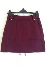 Topshop , Wool A-Line Mini Skirt , UK Size 10 , RRP - £38