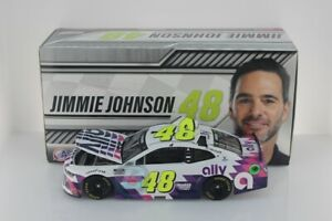 JIMMIE JOHNSON #48 2020 ALLY WHITE 1/24 SCALE NEW IN STOCK FREE SHIPPING