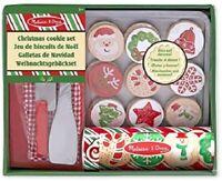 Melissa & Doug Madera Slice & Hornear Navidad Galleta Comida de Juguete Juego