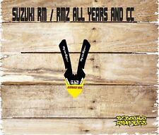 SUZUKI RM RMZ 65 85 125 250 450 FRONT MUDGUARD GRAPHIC-STICKER-DECALS-MX89