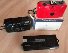 Lot Of 3 Cameras, 2 35mm And A 110,pre-owned