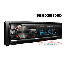 Pioneer DEH-X9550SD 1-Din MIXTRAX SD/Dual USB/iPod/iPhone Receiver Car Stereo