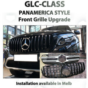 Mercedes Benz GLC Class Panamerica style Grille from AMG GT 63 front grille
