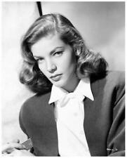 Lauren Bacall great 8x10 portrait still The Big Sleep - j819