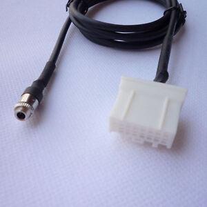 Female jack AUX Adapter Cable Input For Mazda3 Mazda6 Mazda2 Mazda5 Tide