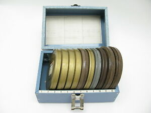 """8mm Film Home Amateur Movies 5"""" Reels QTY 7 Films, Metal Canisters and Case"""