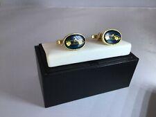 Car Cufflinks - Sports Car Design Novelty - Gold Plated - Perfect Gift!!!