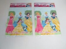 DISNEY PRINCESS PARTY FAVOR GOODY LOOT BAGS - LOT OF 2 PACKAGES - PARTY SUPPLIES