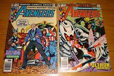 Avengers #201,202 George Perez Ultron 9.0/9.2