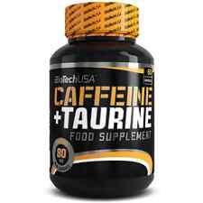 Biotech USA Caffeine plus Taurine 60 caps FREE WOLRD SHIPPING !!!