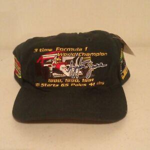 Vintage New Formula F1 Racer Ayrton Senna Official 3 Time Champion Hat Racing