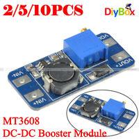 1/2/5/10PCS MT3608 2A DC-DC Step Up Power Supply Module Booster Module F Arduino