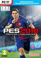Pro Evolution Soccer PES 2018 Premium Edition (Calcio) PC IT IMPORT KONAMI