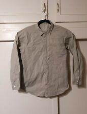 Snow Peak Light Ventilated +Stretch Zip Jacket Khaki US Large - Medium Japan