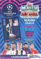 2018/2019 Topps Match Attax Champions League Soccer Starter Box-39 ct-RONALDO LE