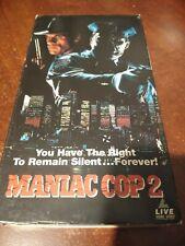 Maniac Cop 2 (VHS, 1991)