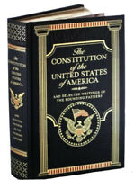 THE CONSTITUTION  OF THE UNITED STATES of America & Writings Leatherbound Sealed