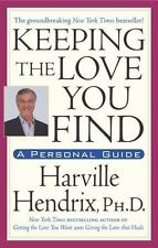 Keeping the LOVE You Find by Harville Hendrix FREE SHIP relationships paperback