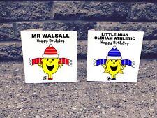 Personalised Any Football Team Birthday Card - League 2