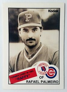 "RAFAEL PALMEIRO ""RAFFY"" 1988 PEORIA CHIEFS Team Issue Minor League RC Rookie"