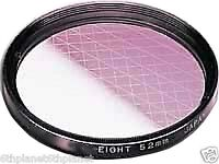 27mm Video Camera Gitter 6x (Cross/Star) Effect Filter