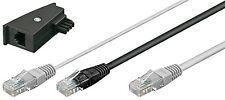 Fritz!Box FritzBox Y Kabel DSL Internet RJ45 Y Kabel TAE Adapter DSL Router 3 m